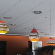 Decorative Hand Blown Glass Pendant Lighting