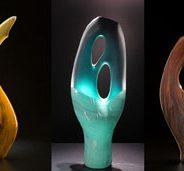Bernard Katz Glass Contemporary Art Glass Sale