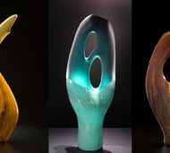 Bernard Katz Glass Contemporary Art Glass Sale