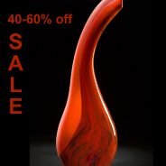 Contemporary Art Glass Sale Bernard Katz