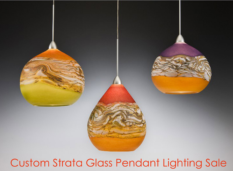 sweet deal glass clear art on viz pendant shop