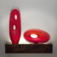 Monolito Small Art Glass Sculpture Collection