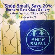 Shop Small Bernard Katz Glass