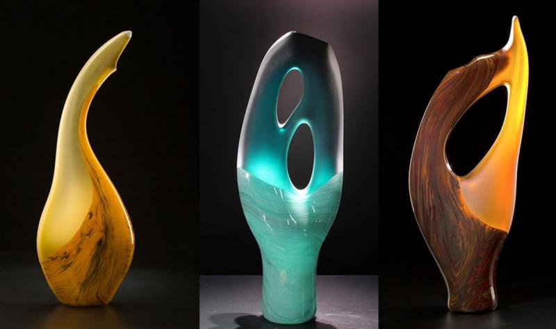 Art Glass Sculptures