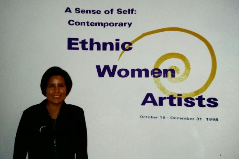 Art show ethnic women