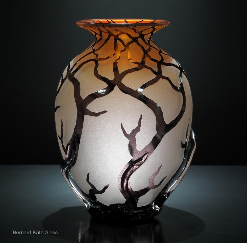 Bellied Root Vessel in Sunset Salmon