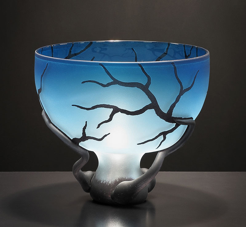 Blue Chalice Root Vessel