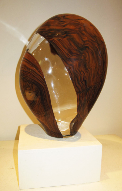 Opaque and Cinnamon Sculpture