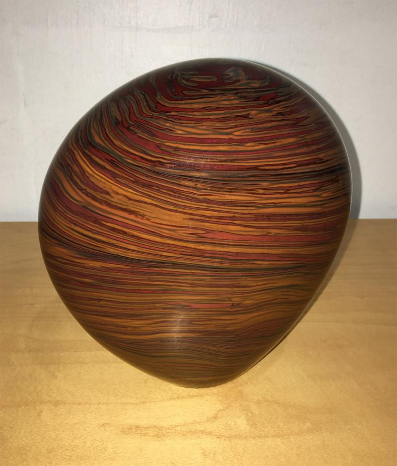 Glass Cinnamon Rock