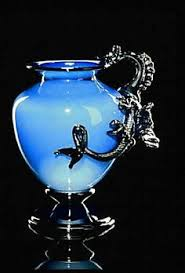 Blue Dragon Vase