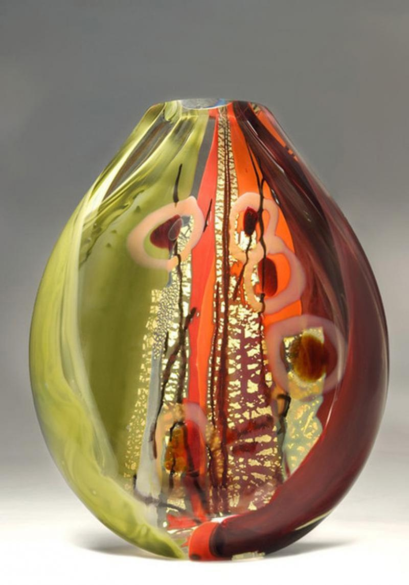 Sedona Glass Sculpture