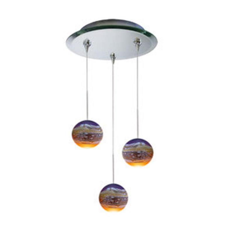 Strata Three Lighting Chandelier