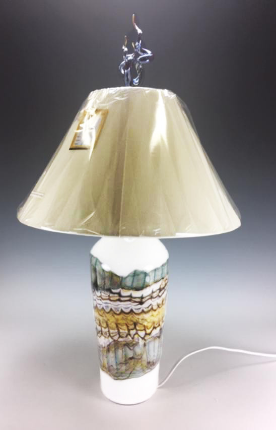 White Opal Table Lamp